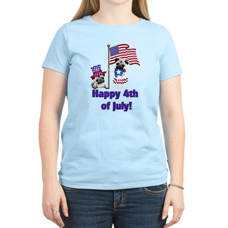 Pug 4th of July T-Shirt
