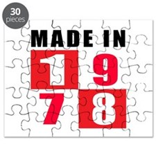Made In 1978 Puzzle