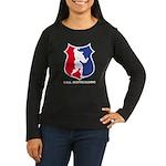 USA BB -Women's Long Sleeve Dark T-Shirt