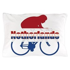 Netherlands Cycling Pillow Case