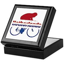 Netherlands Cycling Keepsake Box
