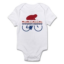 Netherlands Cycling Infant Bodysuit
