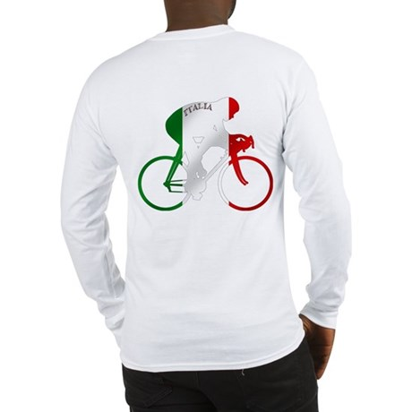 Italian Cycling Long Sleeve T-Shirt