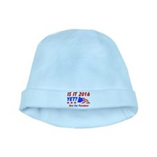 Rice For President baby hat