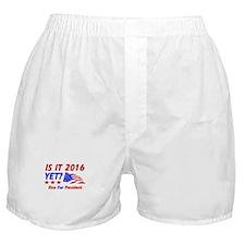 Rice For President Boxer Shorts
