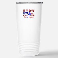 Rice For President Travel Mug