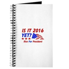 Rice For President Journal