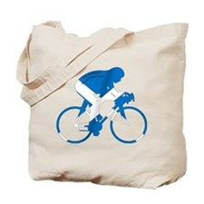 Scotland Cycling Tote Bag