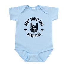 Keep Portland Atypical Onesie