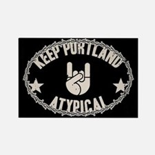 Keep Portland Atypical Rectangle Magnet
