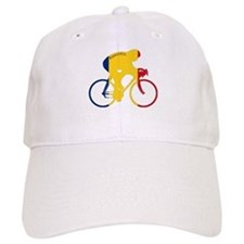Romania Cycling Baseball Cap