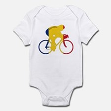 Romania Cycling Infant Bodysuit