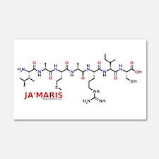 Jamaris molecularshirts.com Wall Decal
