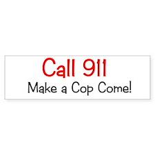 911 Bumper Bumper Sticker