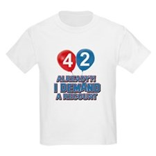 42 years birthday gifts T-Shirt
