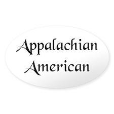 Appalachian American Rectangle Decal