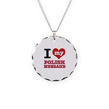 I love my Polish Husband Necklace