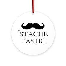 'Stache Tastic Ornament (Round)