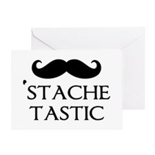 'Stache Tastic Greeting Card
