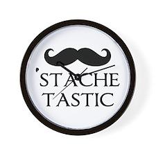 'Stache Tastic Wall Clock