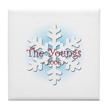 Snowflake - Young Tile Coaster