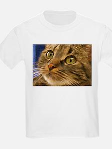 Artful Cat Kids T-Shirt