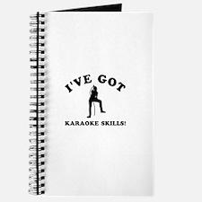 I've got Karaoke skills Journal