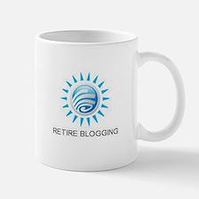 Retire Blogging Mug