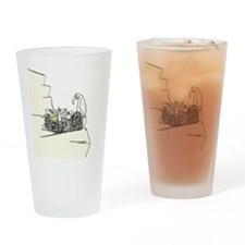 Sage Wings Drinking Glass