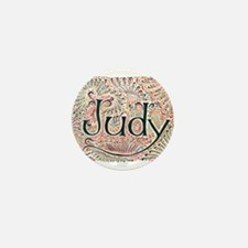 Judy Mini Button
