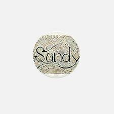 Sandy Mini Button