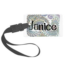 Janice Luggage Tag