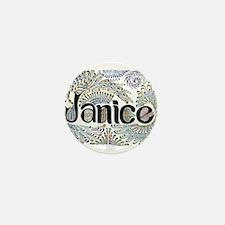Janice Mini Button