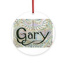 Gary #1 Ornament (Round)