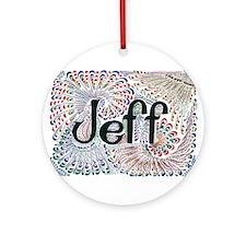 Jeff Ornament (Round)