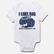 I Like Big Trucks Onesie