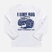 I Like Big Trucks Long Sleeve Infant T-Shirt