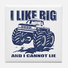 I Like Big Trucks Tile Coaster