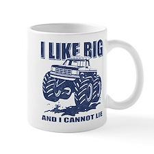 I Like Big Trucks Small Mug