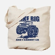 I Like Big Trucks Tote Bag