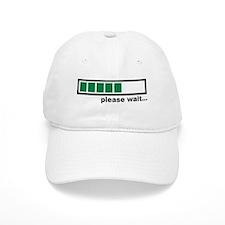 Loading bar please wait Baseball Cap