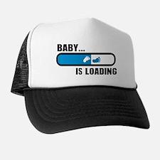 Baby loading feet Trucker Hat