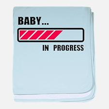Baby in progress loading baby blanket