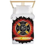 Firefighter Twin Duvet Covers