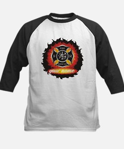 Personalized Fire and Rescue Baseball Jersey