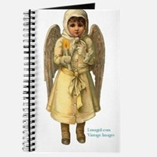 Snow Angel Victorian Christma Journal