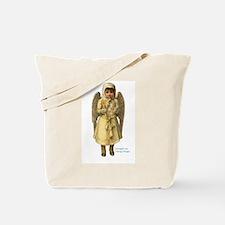 Snow Angel Victorian Christma Tote Bag