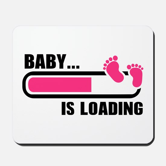 Baby loading bar Mousepad