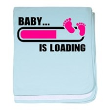 Baby loading bar baby blanket