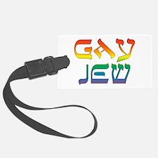 Gay Jew Luggage Tag